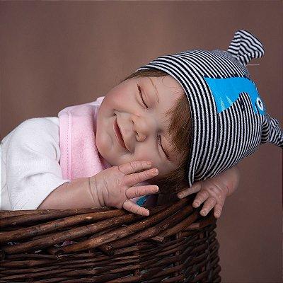 Bebe Reborn Born Real Star 50cm, Menino ou Menina - Lançamento 2021