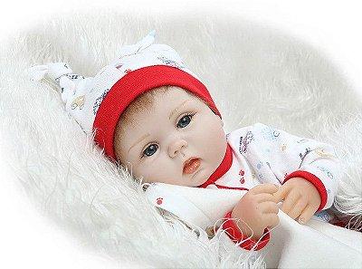 Bebê Reborn Melissa com Mantinha