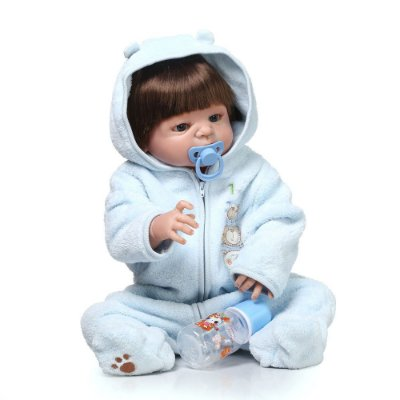 Bebê Reborn Rafael com Pijama Febre 2017 Pode Dar Banho