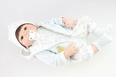 Bebê Reborn Leandro de Pijaminha 57cm