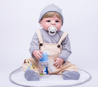 Bebê Reborn Tony Lançamento 2017 de Silicone
