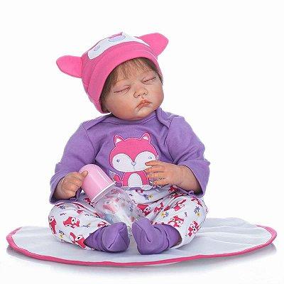 Bebê Reborn Nathy Novidade 2017 Toda Delicada e Realística