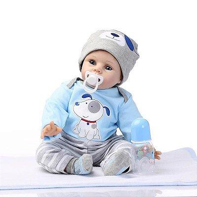 Bebê Reborn Matheus Hora de Dormir Lançamento 2017