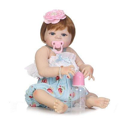 Bebe Reborn Emma Lançamento Exclusiva 55cm