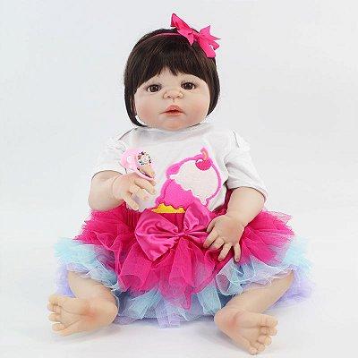 Bebê Reborn Summer Morena - Lançamento 2018