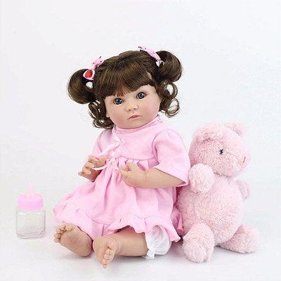 Bebe Reborn Nitinha de 35cm - Lançamento 2019