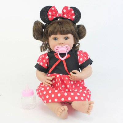 Bebe Reborn MinnieStar de 35cm - Lançamento 2019