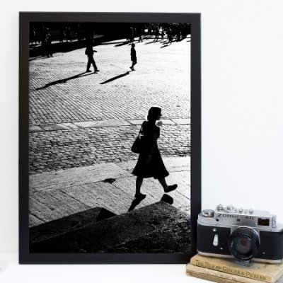 Quadro sombra mulher FF043