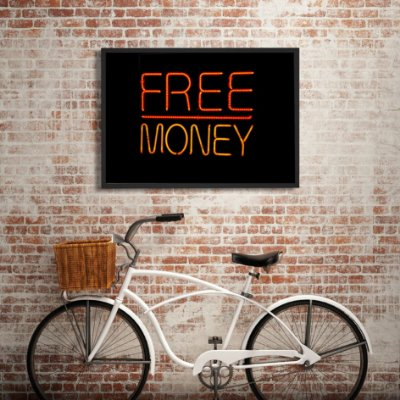 Quadro free money FF011
