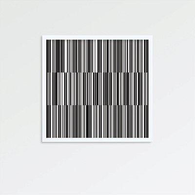 Quadro código de barras FF097