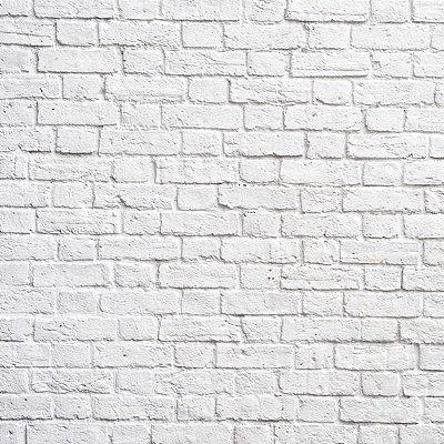 Papel de parede tijolinho branco fp002