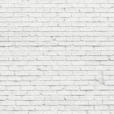 Papel de parede tijolinho branco FP005