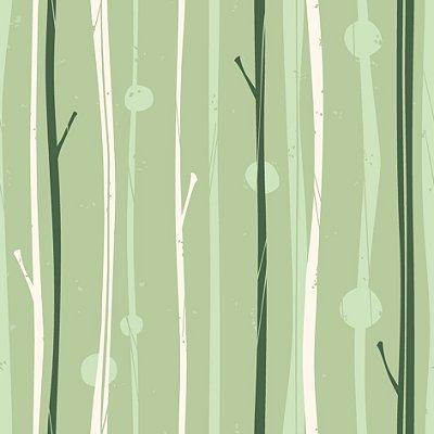 Papel de parede folha verde fp438