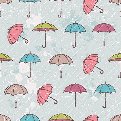 Papel de parede guarda-chuva fp450