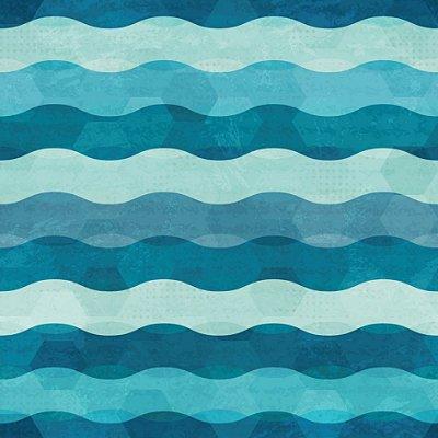 Papel de parede ondas fp453