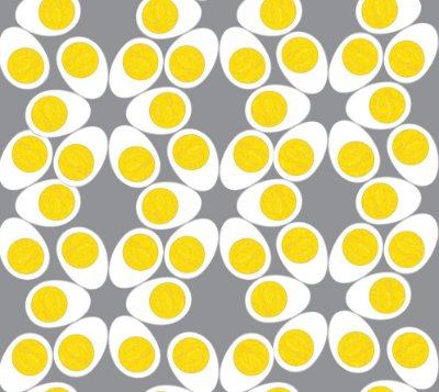 Papel de parede ovos fp451