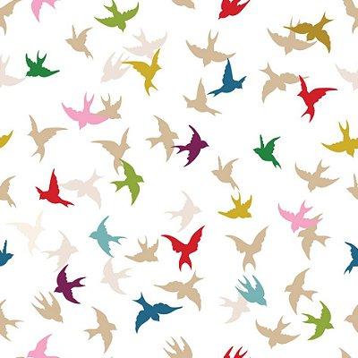 Papel de parede pássaros fp480
