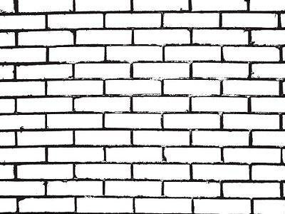 Papel de parede tijolo ilustração fp454