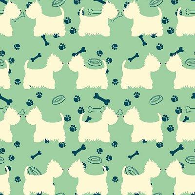 Papel de parede cachorrinhos fp488