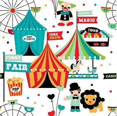 Papel de parede circo  fp492