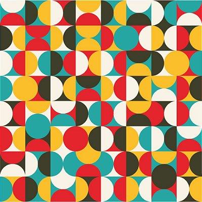 Papel de parede círculos fp491
