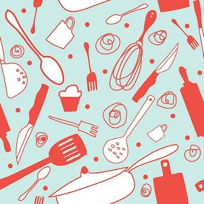 Papel de parede cozinha fp508