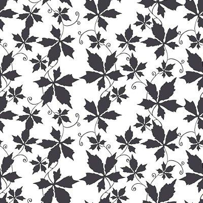 Papel de parede folhas fp524