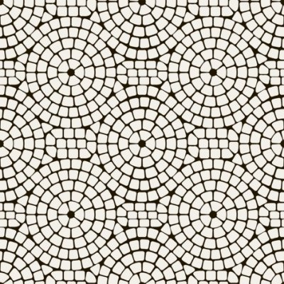 Papel de parede mosaico fp535