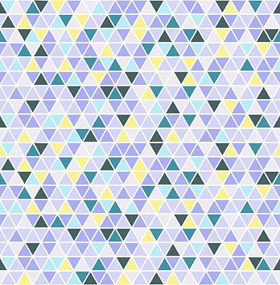 Papel de parede triângulos fp509
