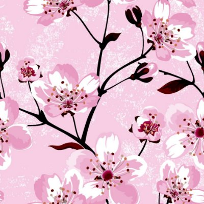 Papel de parede flores fp599