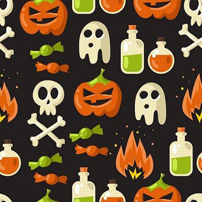 Papel de parede halloween fp578