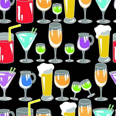 Papel de parede bebidas fp722