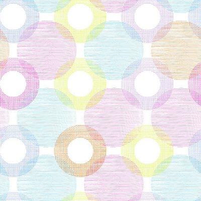 Papel de parede círculos coloridos fp661