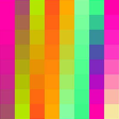 Papel de parede colorido fp638