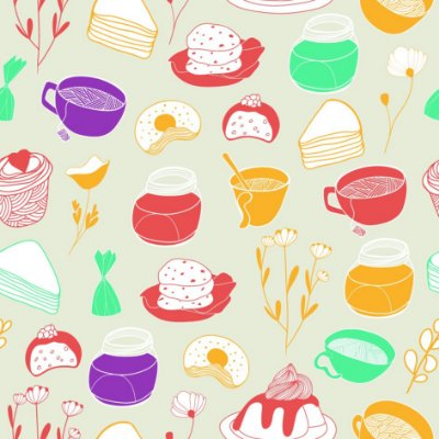 Papel de parede cozinha fp698