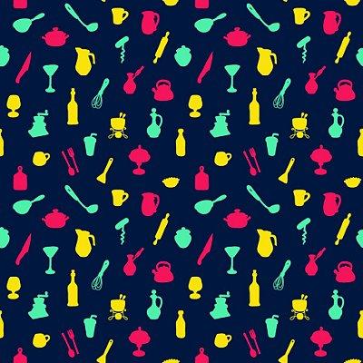Papel de parede cozinha fp718
