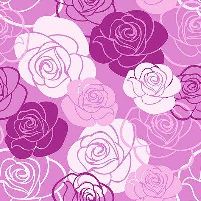 Papel de parede floral fp646