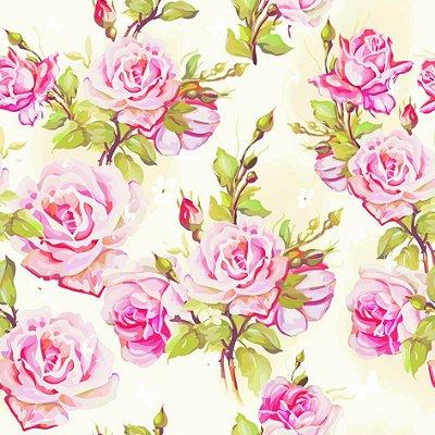 Papel de parede flores  fp616