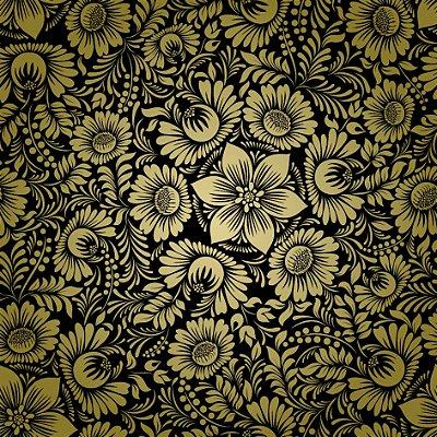 Papel de parede flores vintage fp628