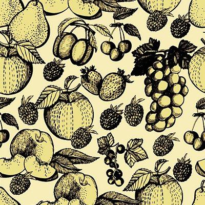 Papel de parede frutas fp687