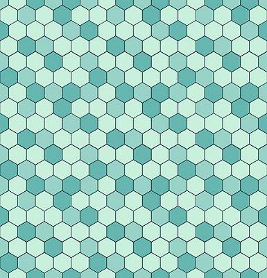 Papel de parede mosaico fp636