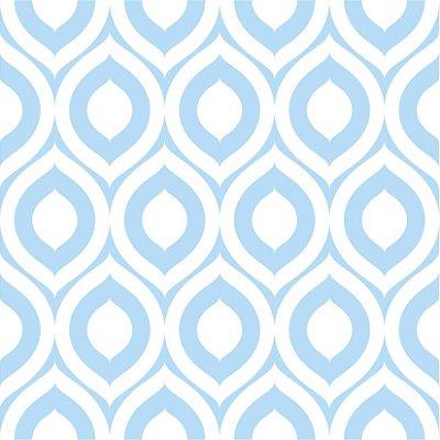 Papel de parede azul fp404