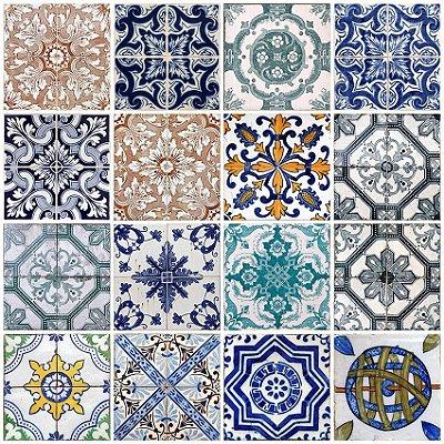 Papel de parede azulejo de Lisboa fp083