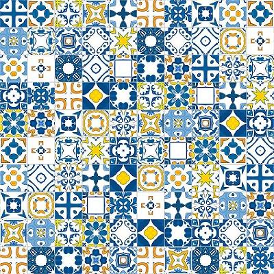 Papel de parede azulejos portugueses fp085
