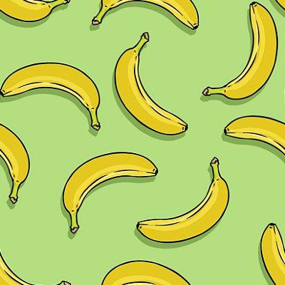 Papel de parede banana fp418