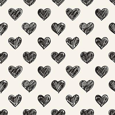 Papel de parede corações fp110