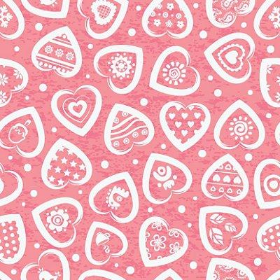 Papel de parede corações fp426