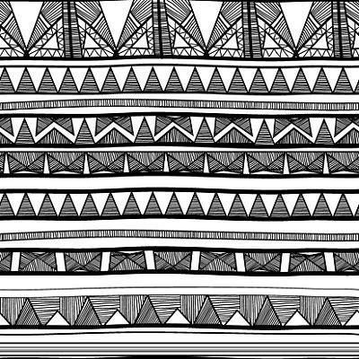 Papel de parede étnico fp425