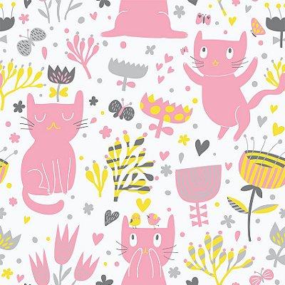Papel de parede gatos engraçados  fp5002