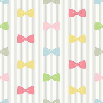 Papel de parede gravatas borboleta fp112